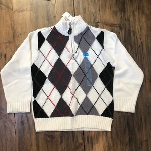 NWT Boys children's place argyle sweater